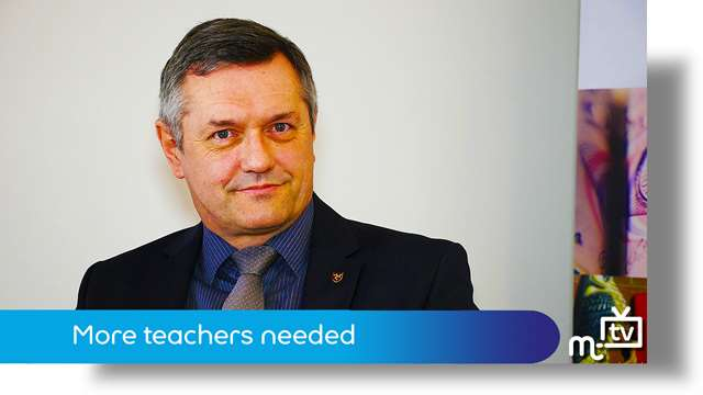 Preview of - More teachers needed