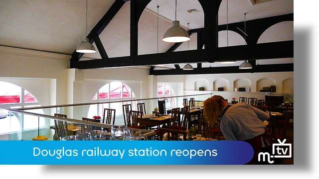 Preview of - Douglas railway station reopens