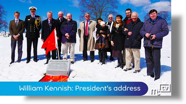 Preview of - William Kennish: Tynwald President