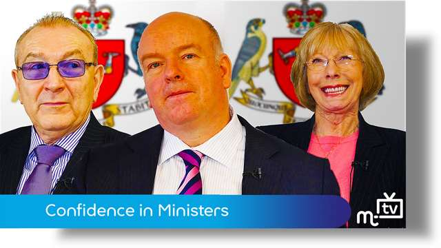 Preview of - Chief Minister: confidence in Ministers