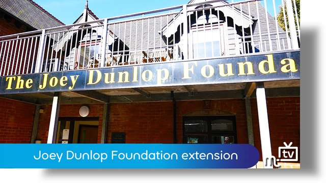 Preview of - The Joey Dunlop Foundation building extension