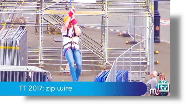 Preview of - TT 2017: zip wire