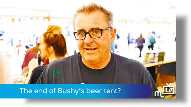 Preview of - The end of Bushy's beer tent?