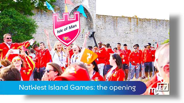Preview of - NatWest Island Games: the opening