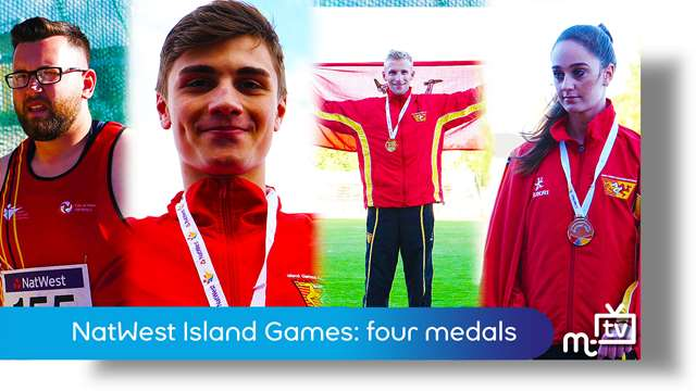 Preview of - NatWest Island Games: athletics medals