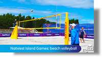 NatWest Island Games: beach volleyball