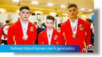 NatWest Island Games: men's gymnastics
