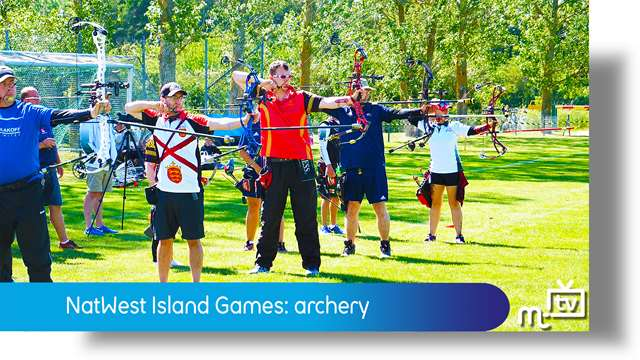 Preview of - NatWest Island Games: archery