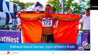 NatWest Island Games: athletics finals