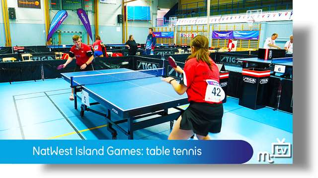 Preview of - NatWest Island Games: table tennis