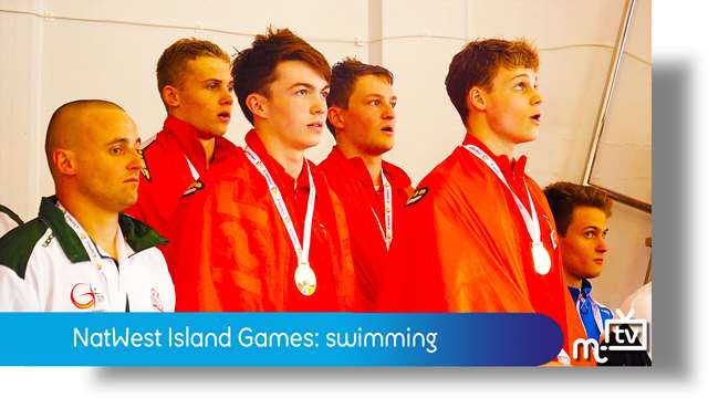 Preview of - NatWest Island Games: swimming