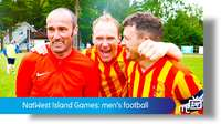 NatWest Island Games: men's football
