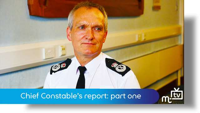 Preview of - Chief Constable's report: part one