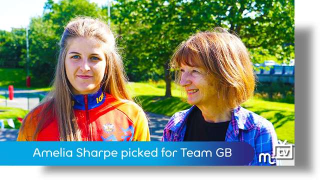 Preview of - Amelia Sharpe picked for Team GB