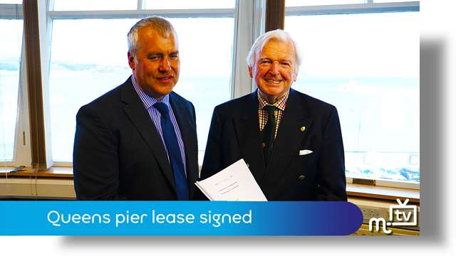 Preview of - Queens pier lease signing