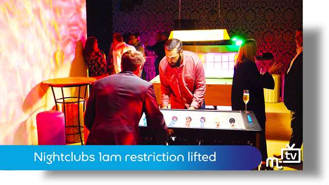Preview of - 1am restrictions on nightclubs