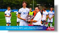 Corinthians win Charity Shield