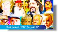 Most viewed MTTV videos: August 2017