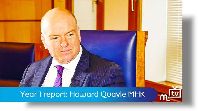 Preview of - Year 1 report: Howard Quayle
