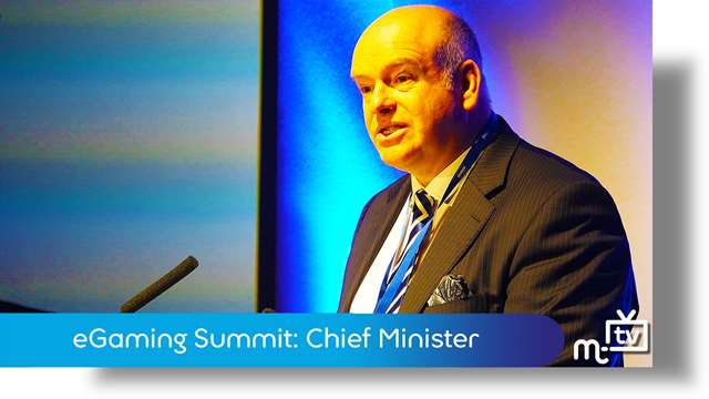 Preview of - eGaming Summit: Chief Minister