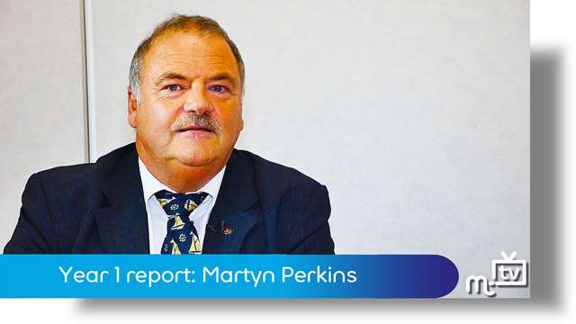 Preview of - Year 1 report: Martyn Perkins