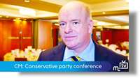 Chief Minister Howard Quayle: Conservative conference