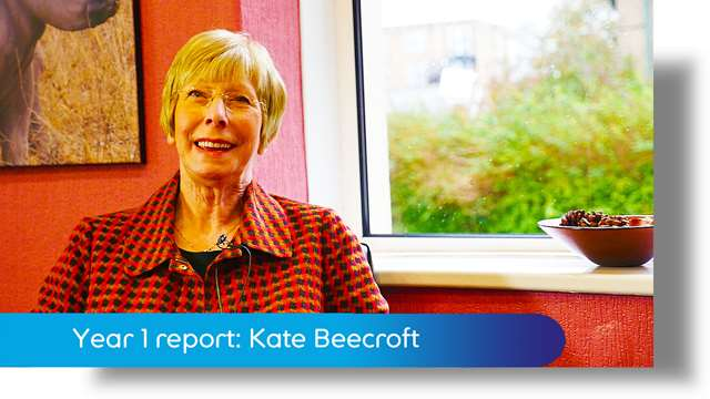 Preview of - Year 1 report: Kate Beecroft