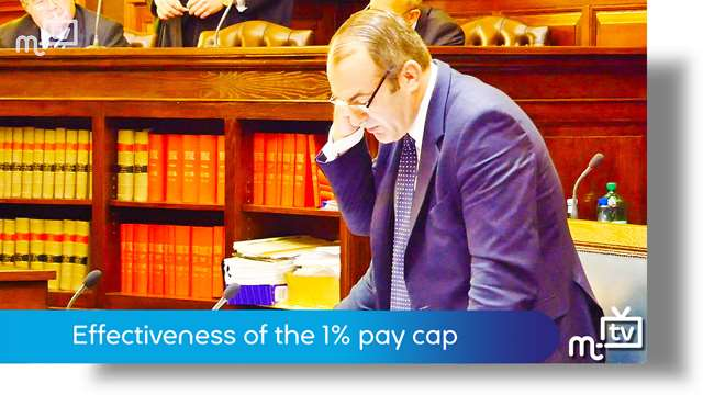 Preview of - Effectiveness of the 1% pay cap