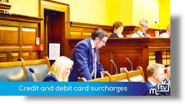 Preview of - Credit and debit card surcharges