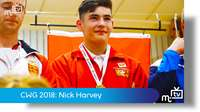 CWG 2018: Nick Harvey