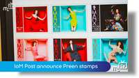 IoM Post announce Preen stamps
