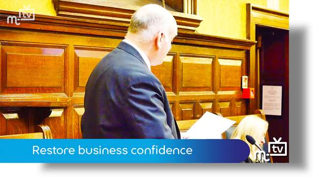 Preview of - Restore business confidence