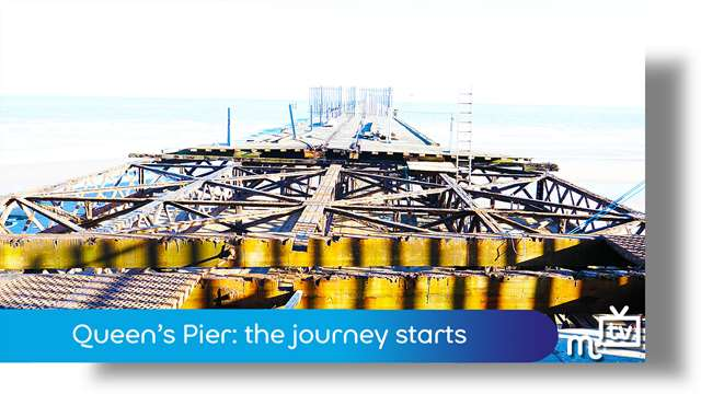 Preview of - Queen's pier: the journey starts