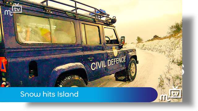 Preview of - Snow hits Island