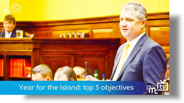 Preview of - Year for the Island: top five objectives