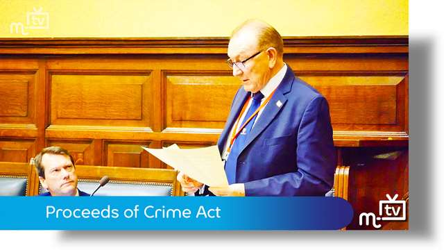 Preview of - Proceeds of Crime Act