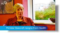 Health Minister Beecroft resigns
