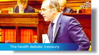The Health service debate: treasury