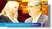 Appraisal process is for Chief Officers