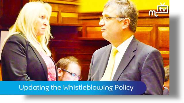 Preview of - Updating the Whistleblowing Policy