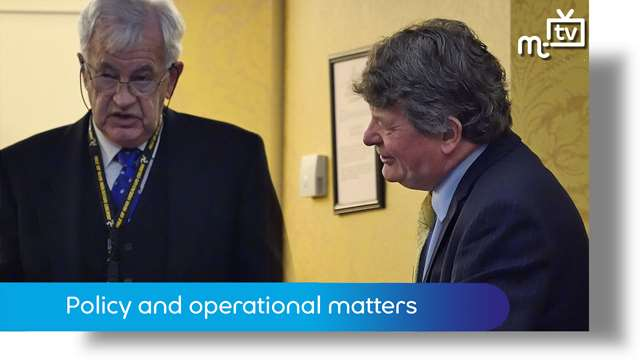 Preview of - Policy and operational matters