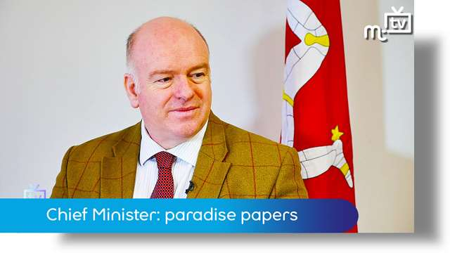 Preview of - Chief Minister: the paradise papers update