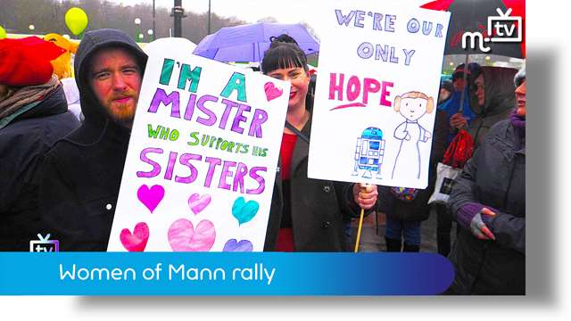 Preview of - Women of Mann rally