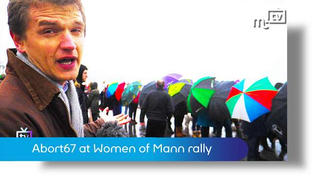 Preview of - Abort67 at Women of Mann rally