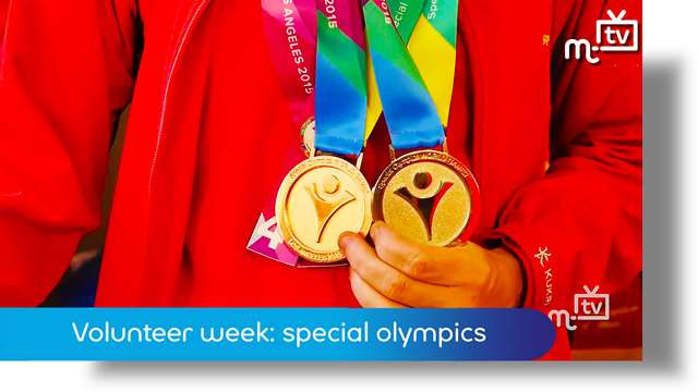 Preview of - Volunteer Week: special olympics