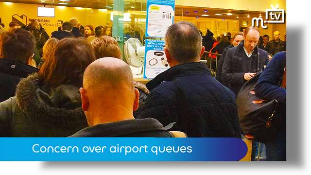 Preview of - Concern over airport queues