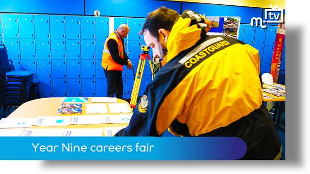 Preview of - Ballakermeen High School: careers fair