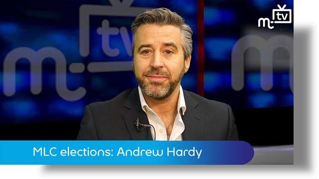 Preview of - MLC elections: Andrew Hardy