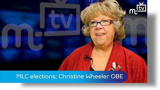 Preview of - MLC elections: Christine Wheeler