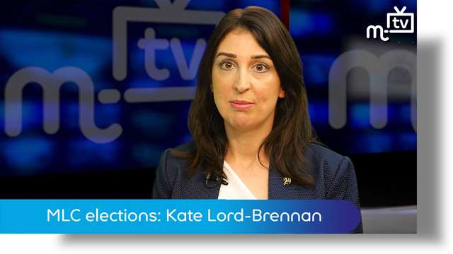 Preview of - MLC elections: Kate Lord-Brennan